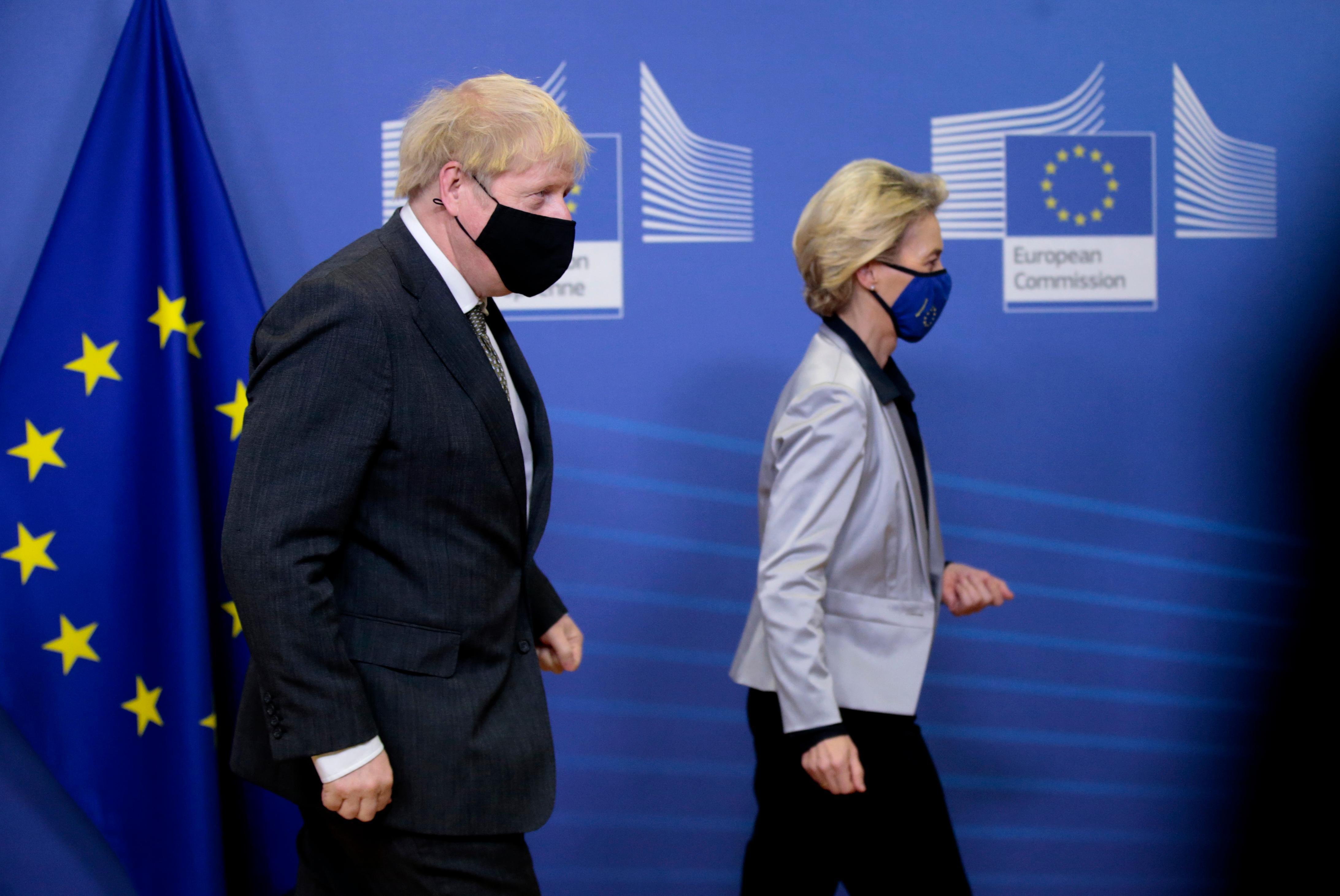 Livestream zur Brexit-Einigung - Unverhoffte Weihnachtsbotschaft zwischen EU und UK