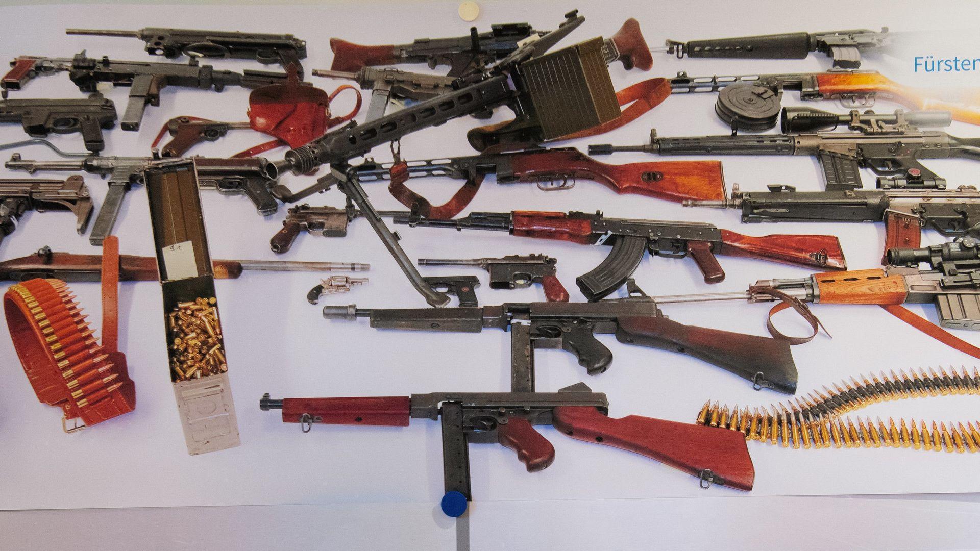 Waffenlager des mutmaßlichen Mörders aus Olching