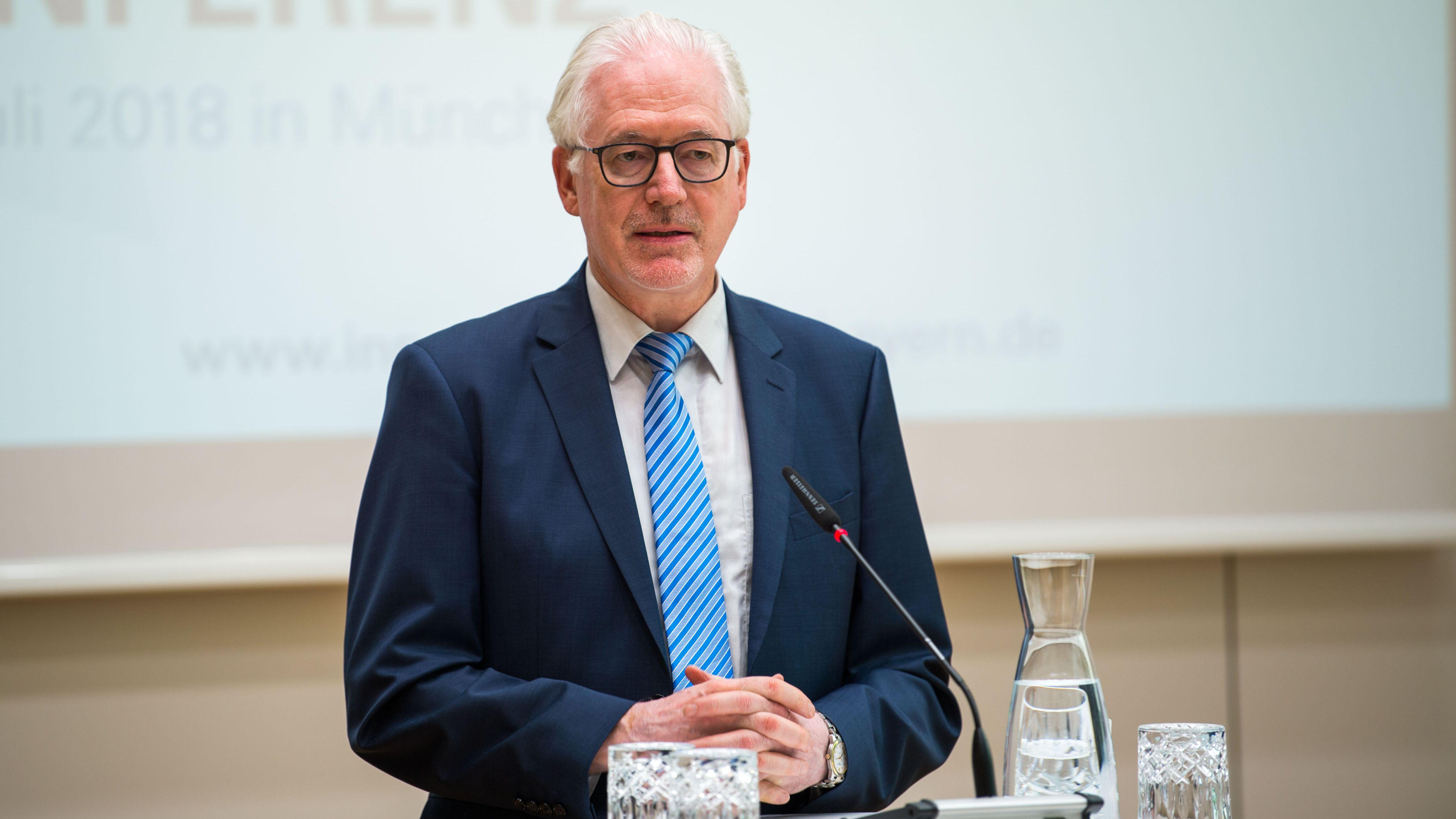 Der Präsident der Diakonie in Bayern: Michael Bammessel.