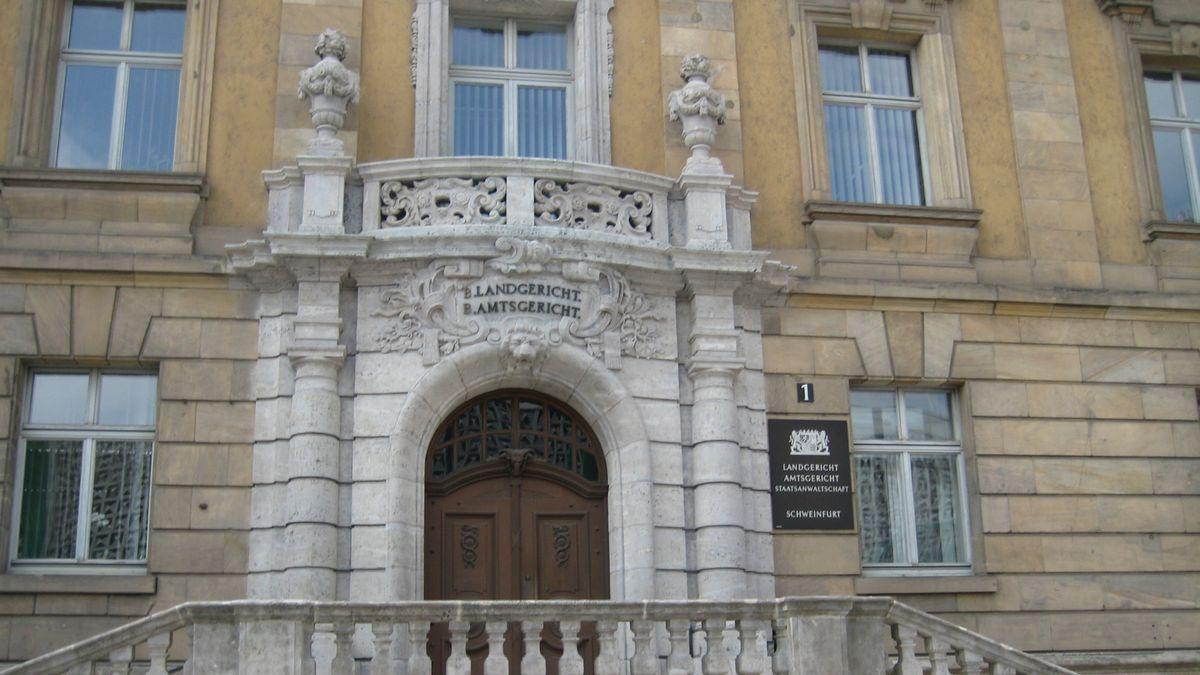 Außenansicht des Landgerichts Schweinfurt