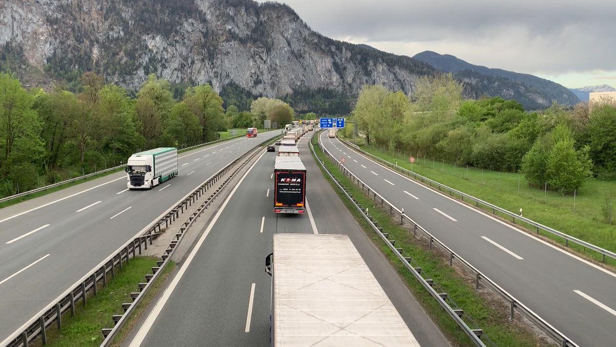 Blockabfertigung nach Tirol - Bisher sehr ruhig