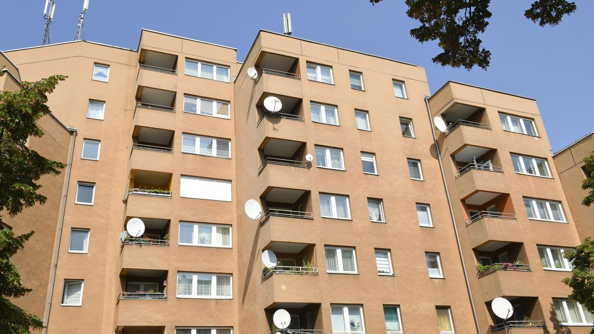 Ein Gebäude mit Sozialwohnungen (Symbolbild)