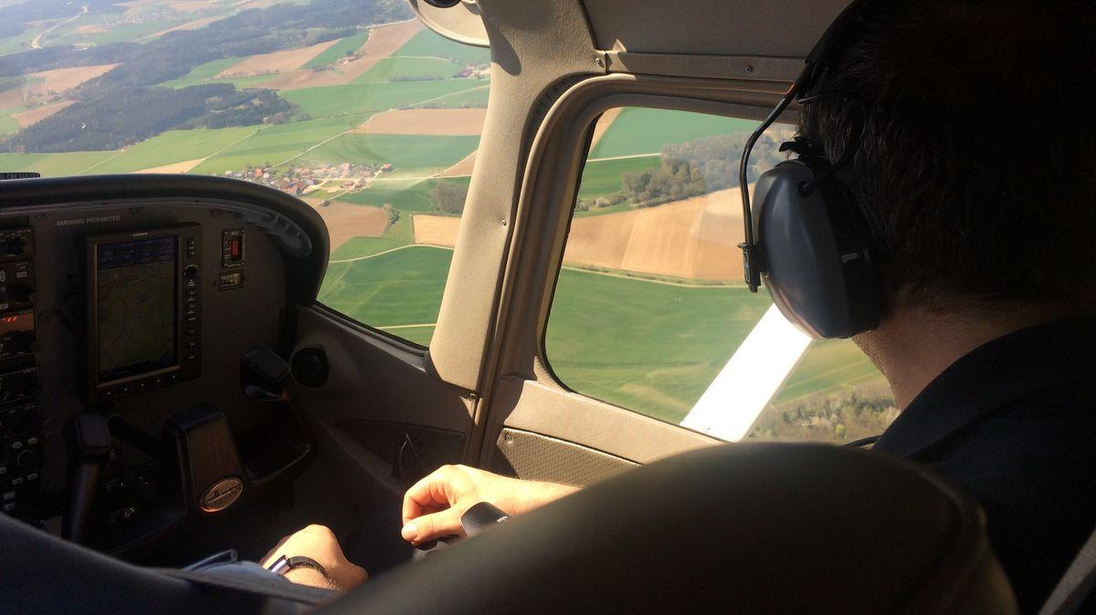 Luftbeobachter im Landkreis Regensburg.