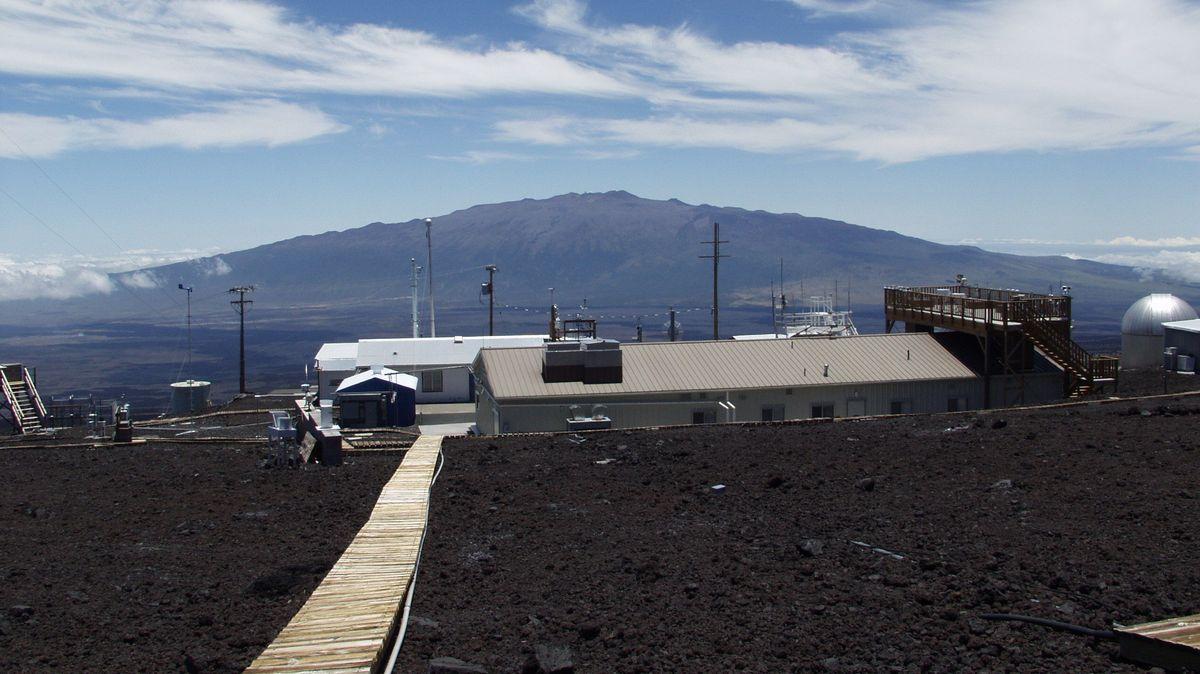 Das Mauna-Loa-Observatorium auf Hawai