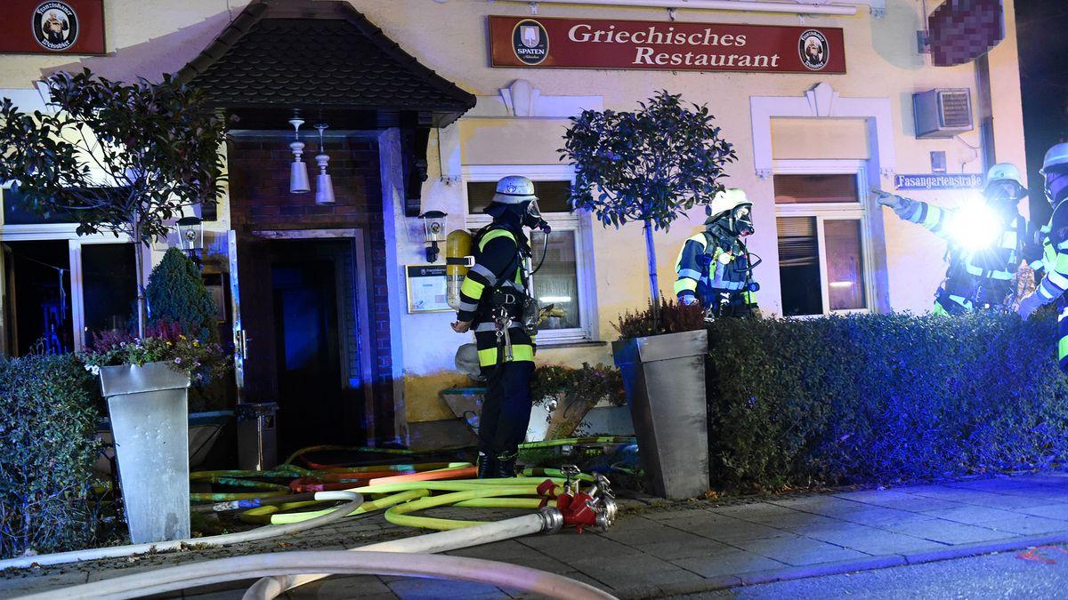 Feuerwehreinsatz in Münchner Restaurant
