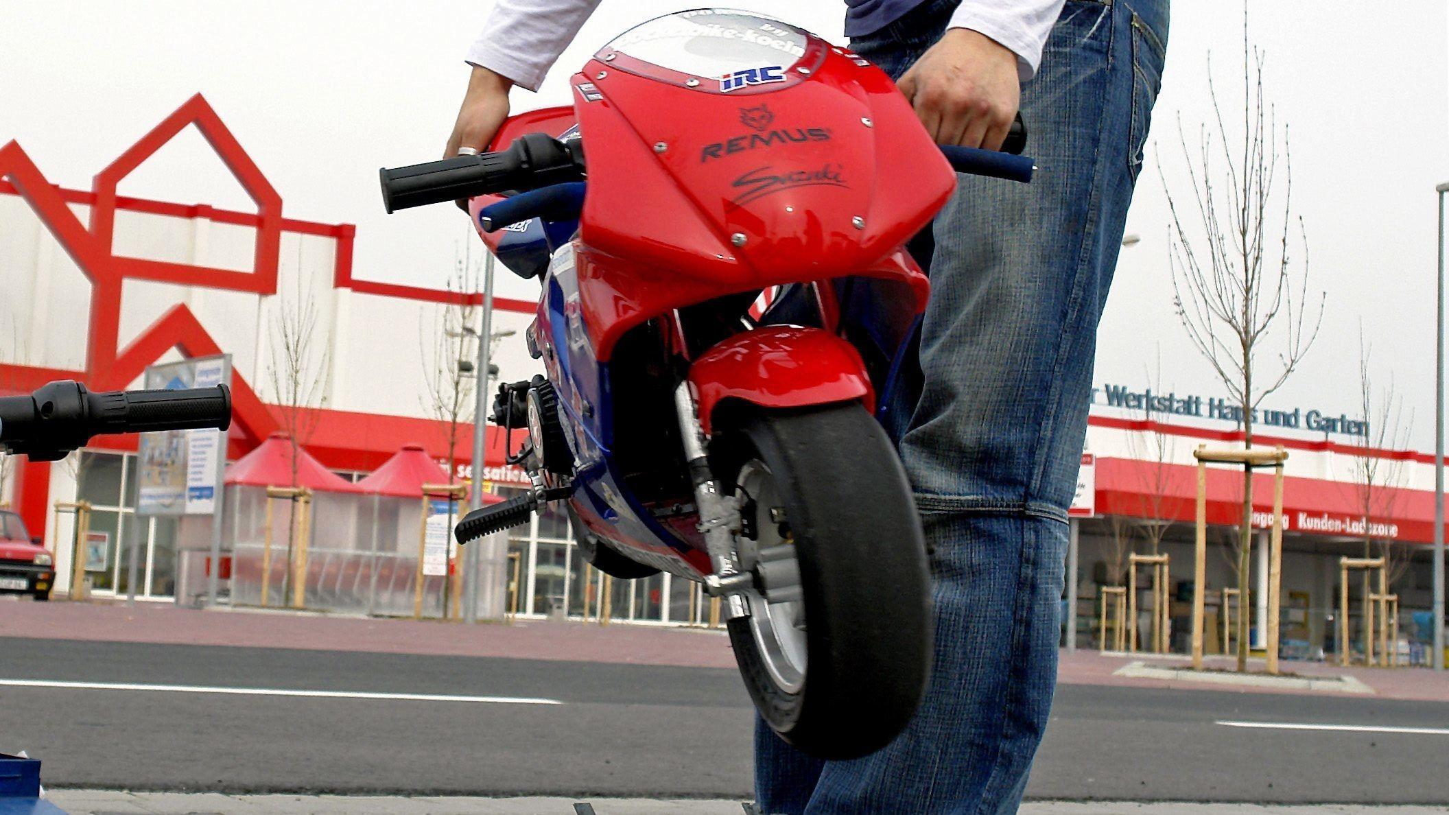 Pocket-Bike (Symbolbild)
