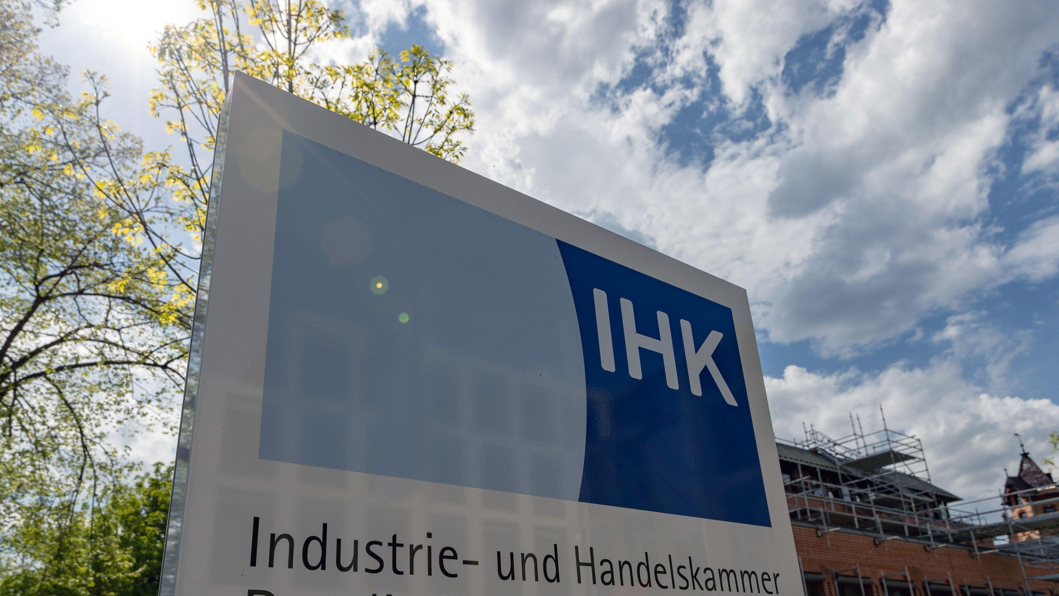 Das Logo einer IHK.