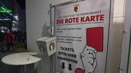 Sammelbox für Schwarzmarkttickets | Bild:BR Fernsehen