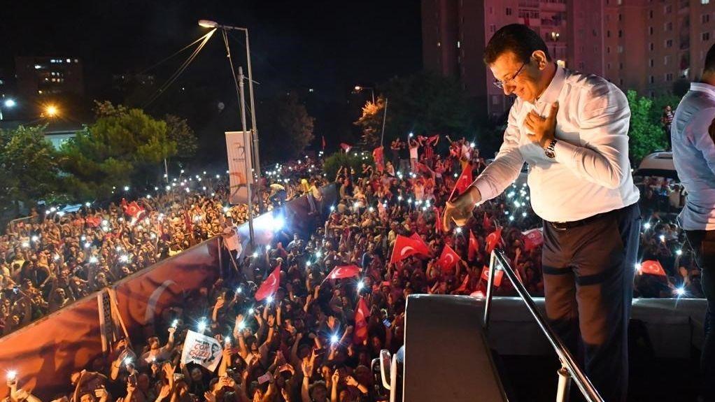 Wahlsieg für Imamoglu in Istanbul