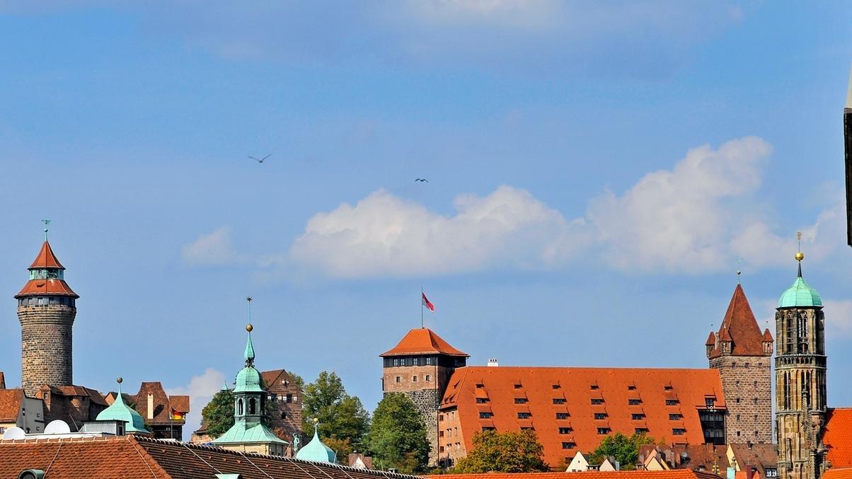 Burg Skyline Nürnberg