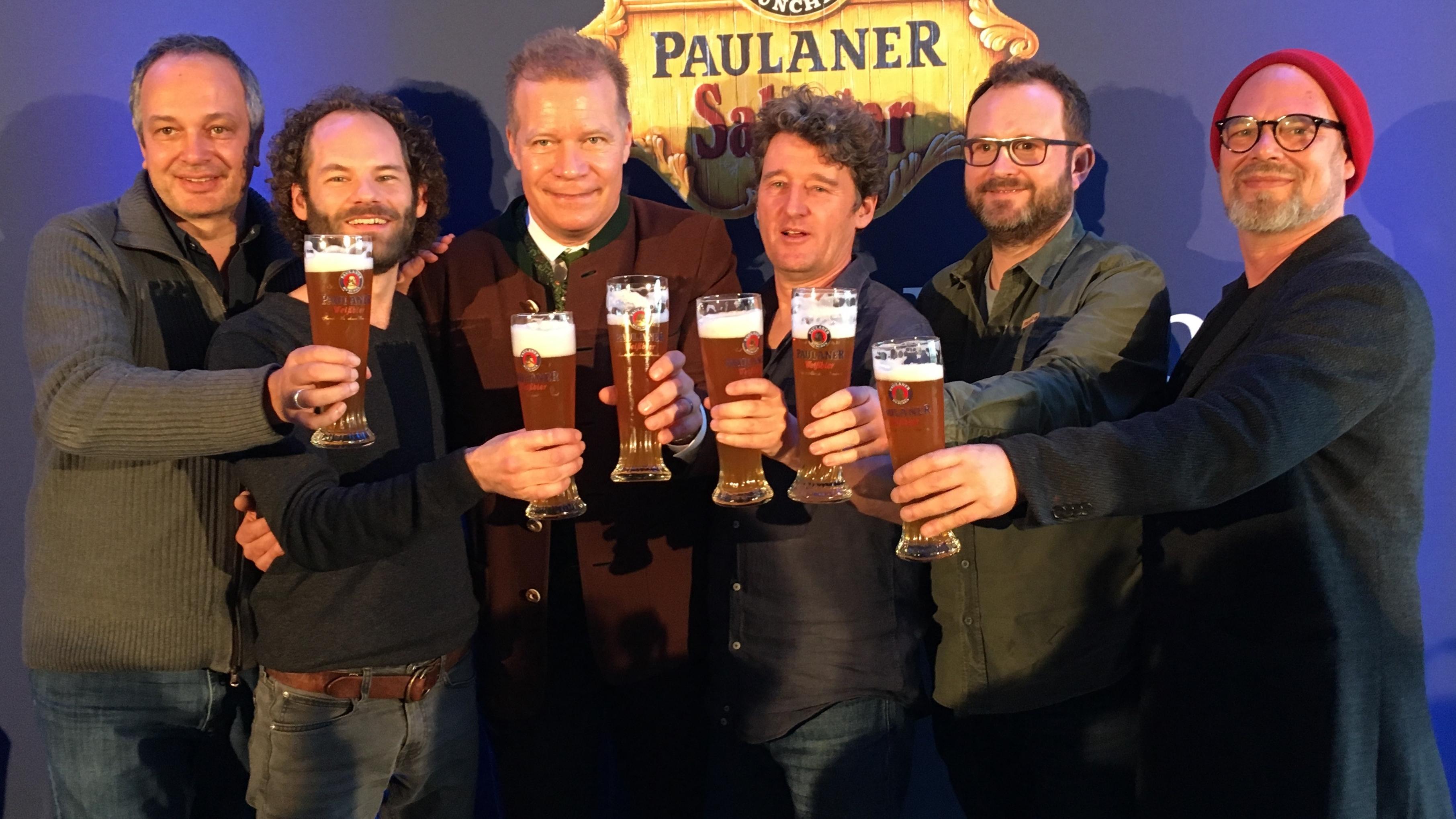 Auf der Nockherberg Pressekonferenz