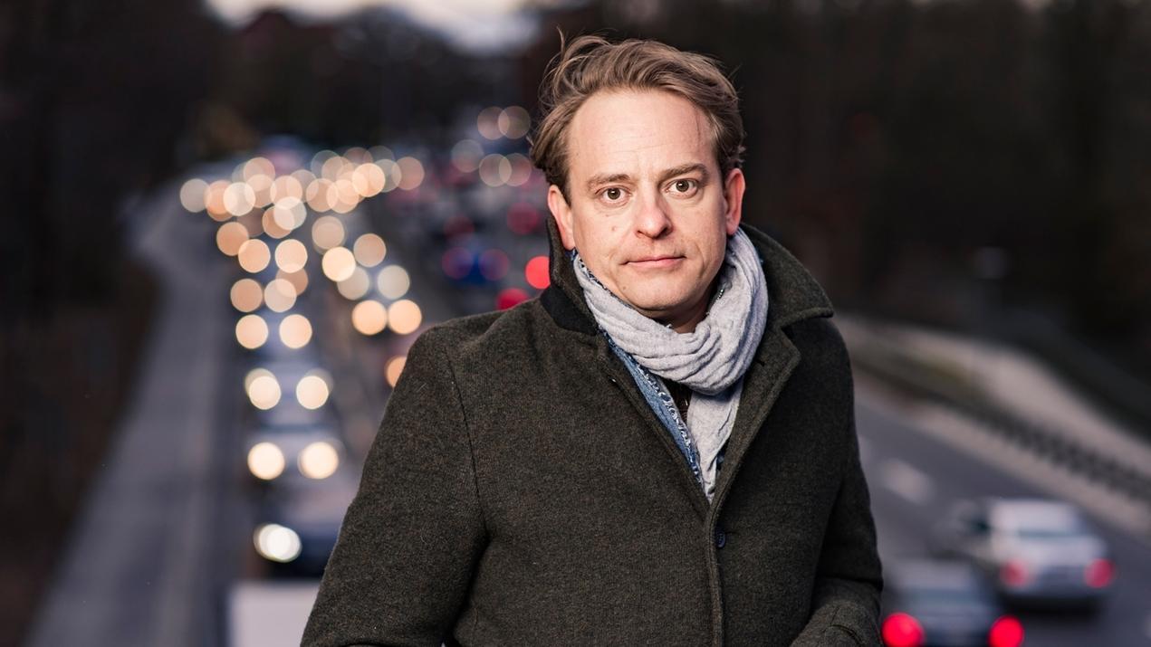 Der Schauspieler Florian Fischer