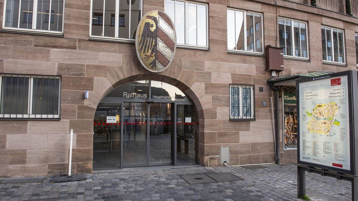 Das Rathaus in Nürnberg