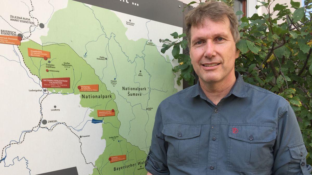 Marco Heurich, Wildtierexperte beim Nationalpark Bayerischer Wald