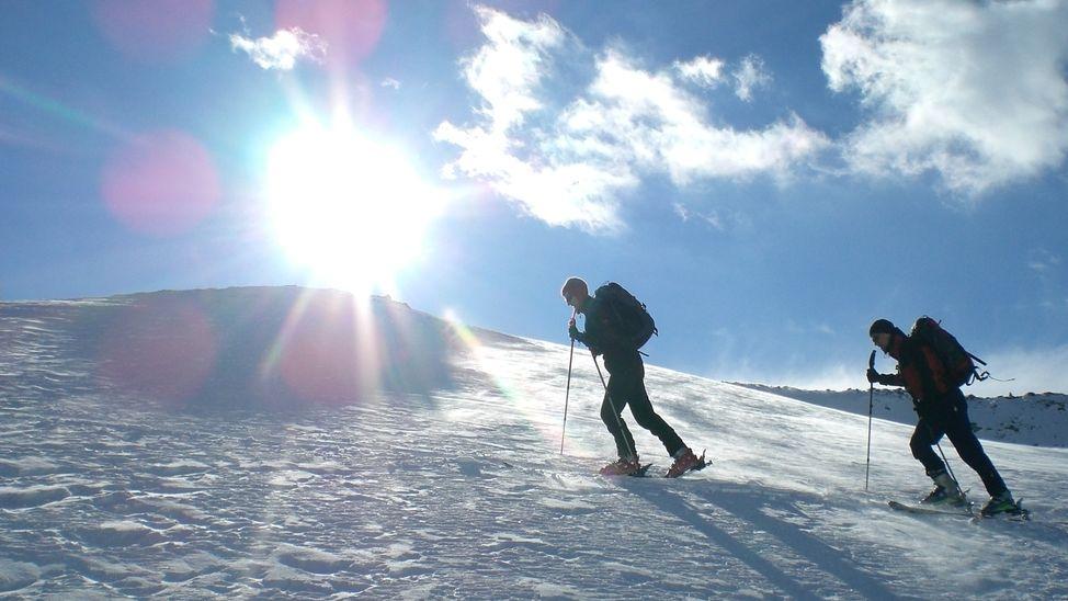 Skitourengeher (Symbolbild)