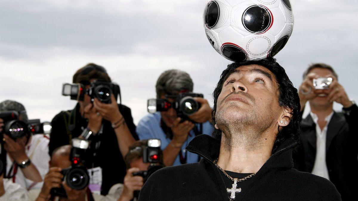 Maradona bei den 61. Filmfestspielen von Cannes
