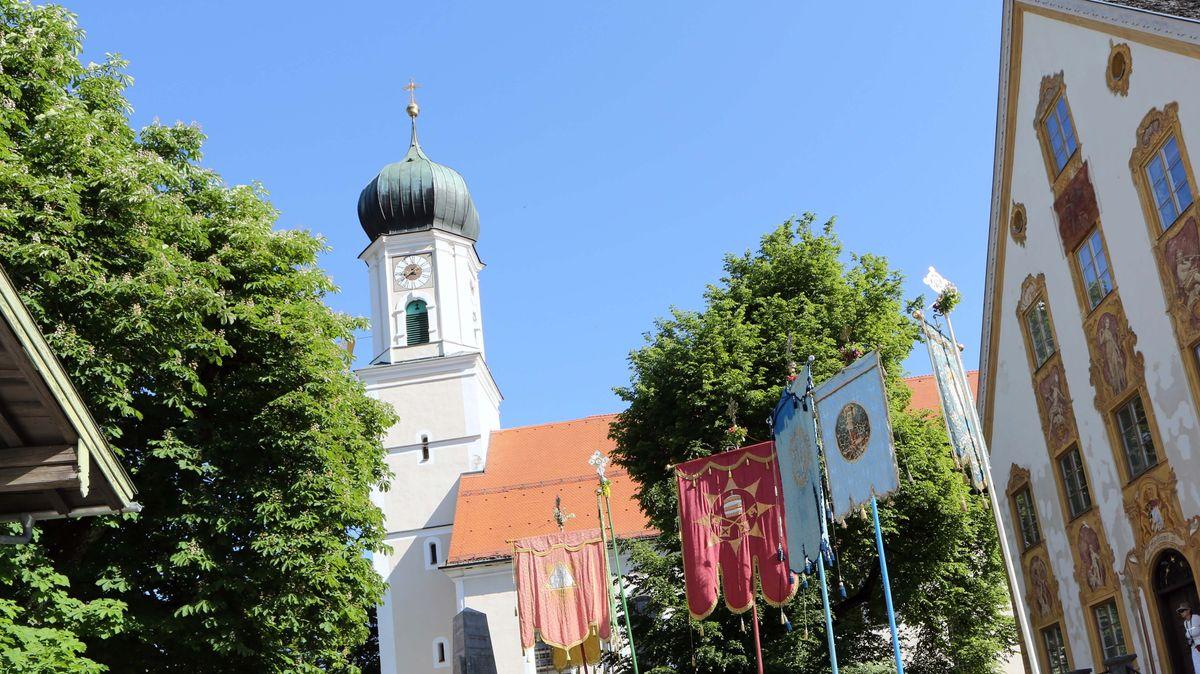Die Kirche in Oberammergau