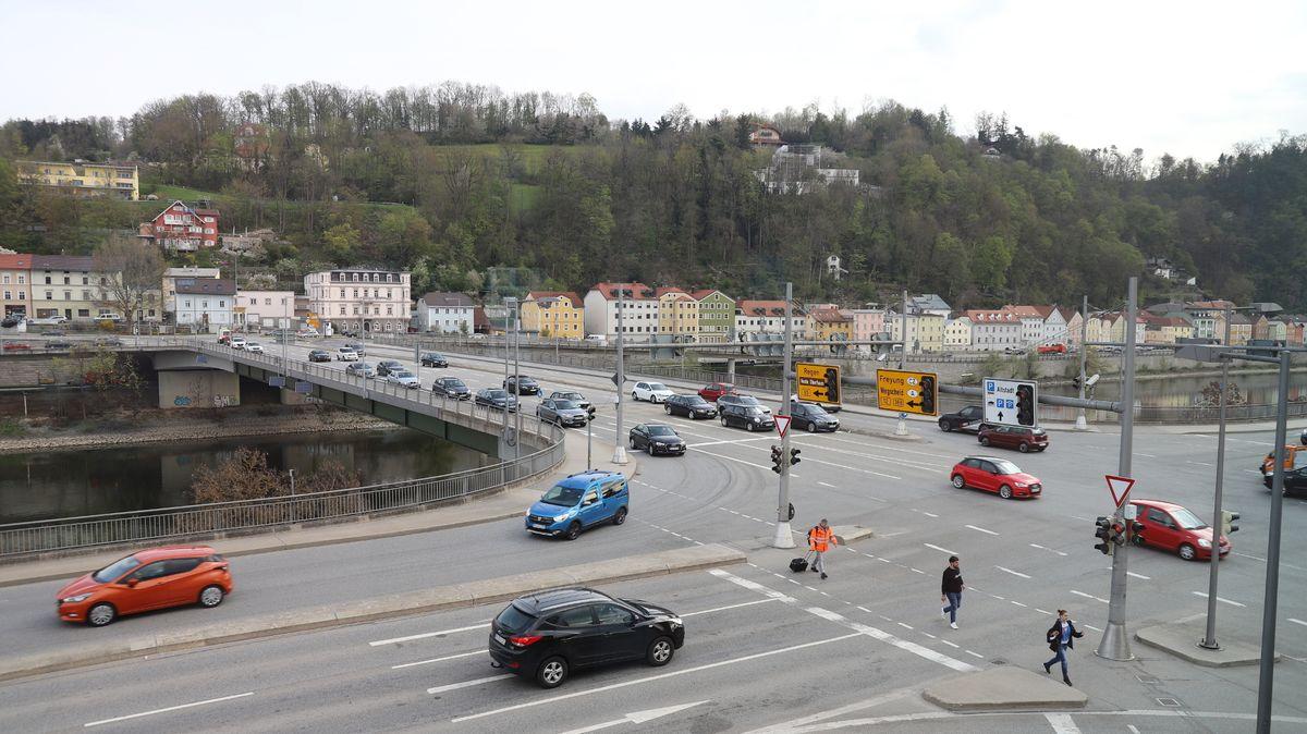Die Schanzlbrücke in Passau