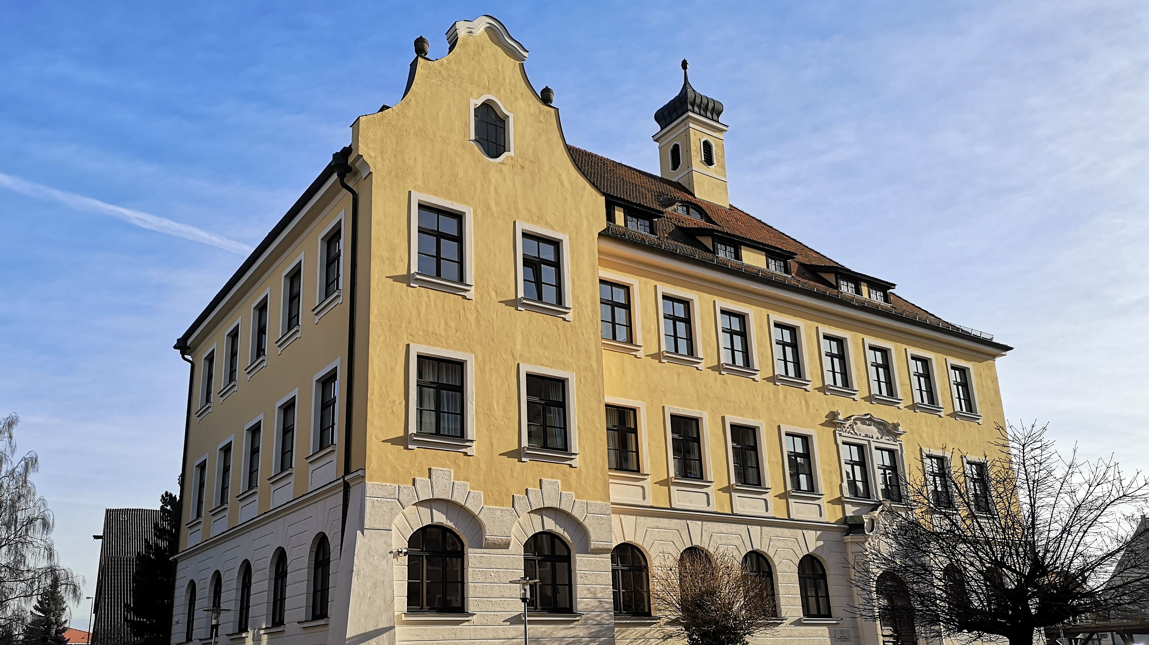 Schulgebäude in Lauingen (Schwaben)