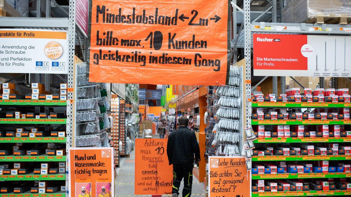 2020 sind die Baumärkte in Deutschland noch vergleichsweise gut durch die Krise gekommen.