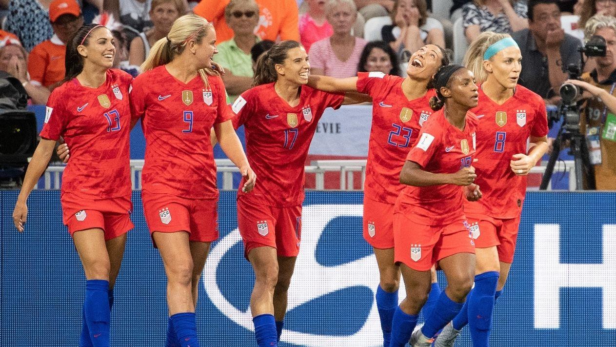 Frauenfußball-WM - England - USA