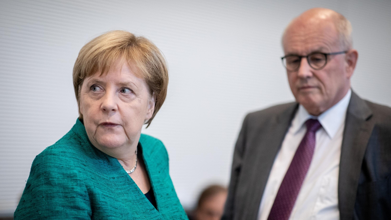Angela Merkel und Volker Kauder