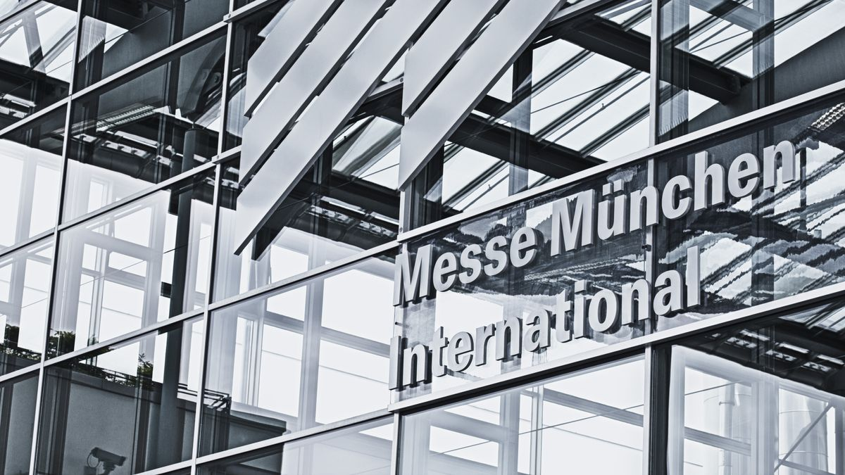 Eingang Messe München