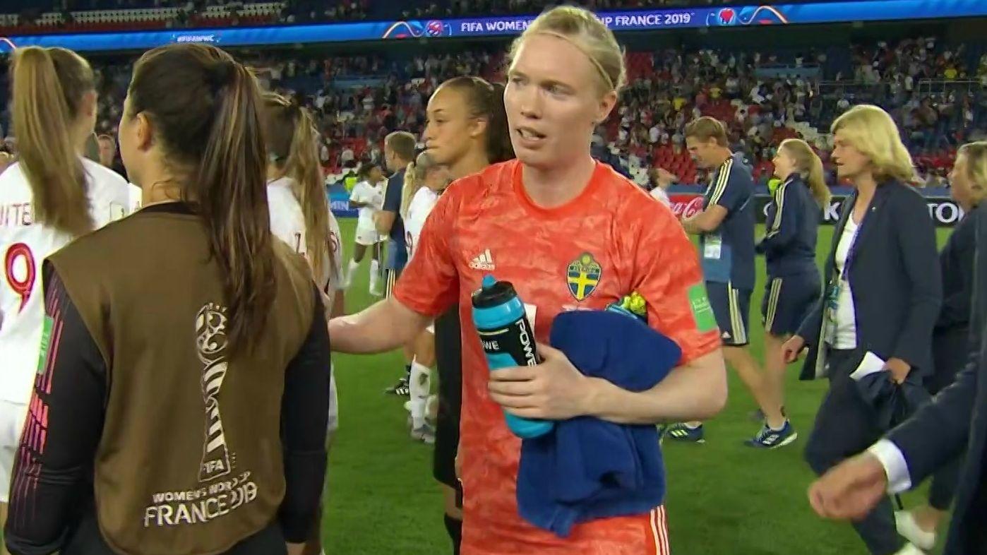 Schweden erreicht das WM-Viertelfinale