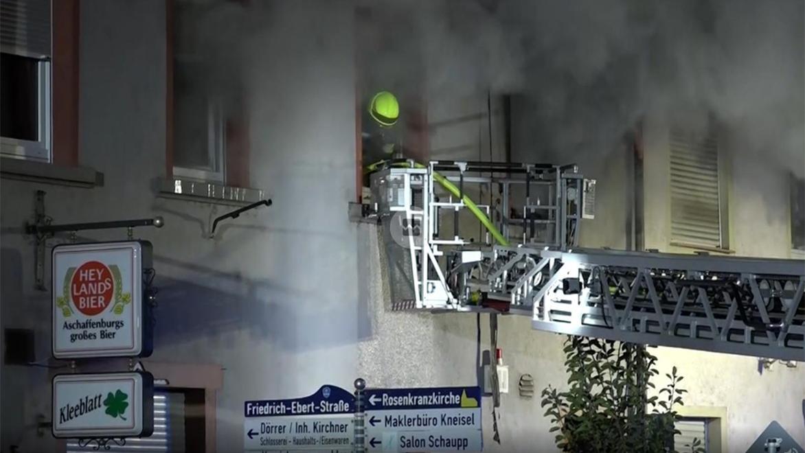 Brand in Stockstadt im Dezember 2018