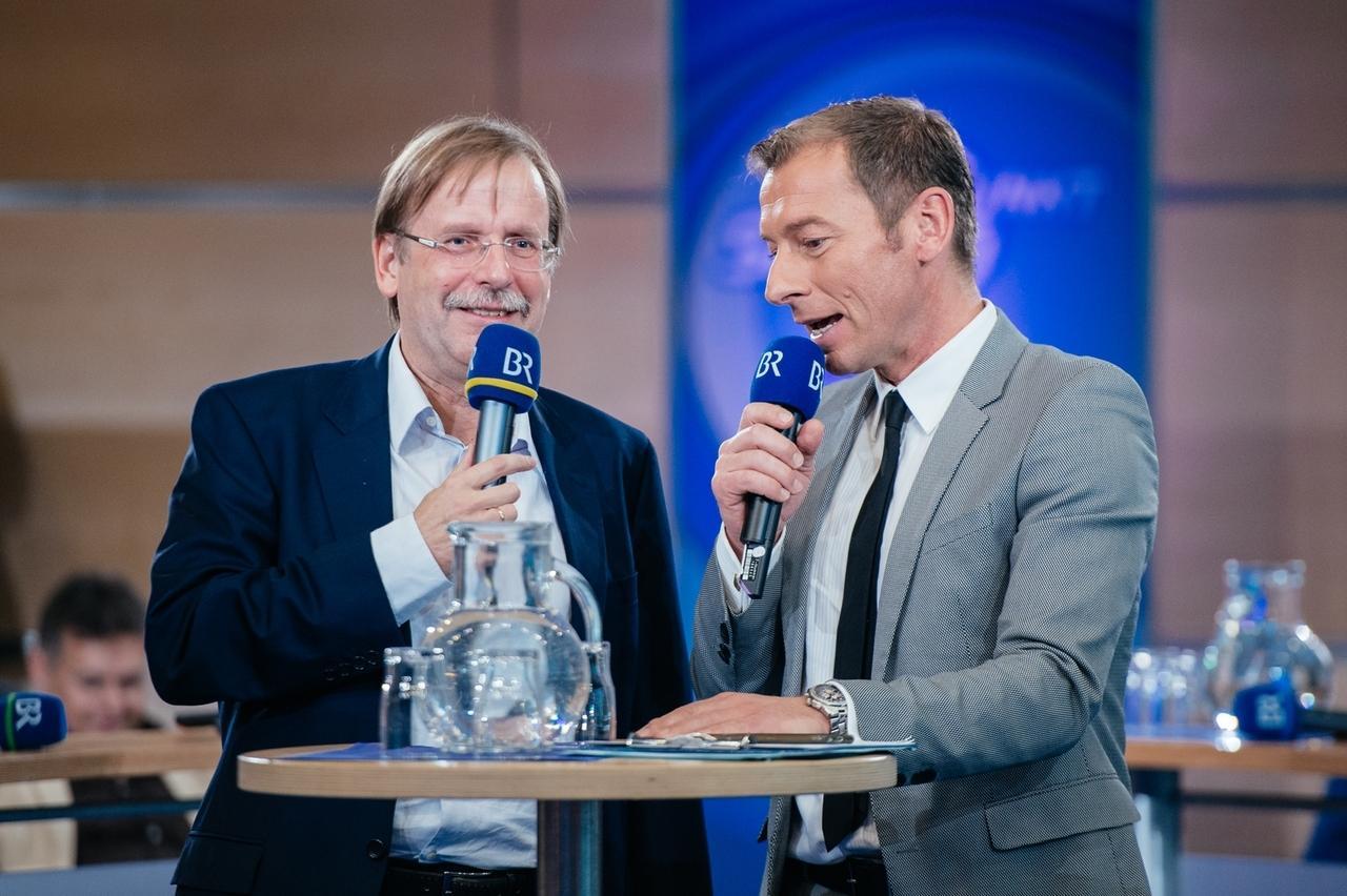 DFB-Vizepräsident und BfV-Präsident Rainer Koch im Gespräch mit Markus Othmer
