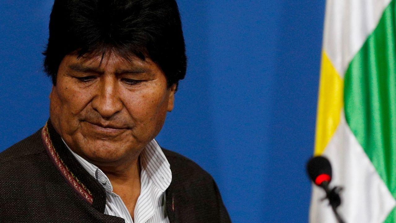 Boliviens Staatschef Morales tritt zurück