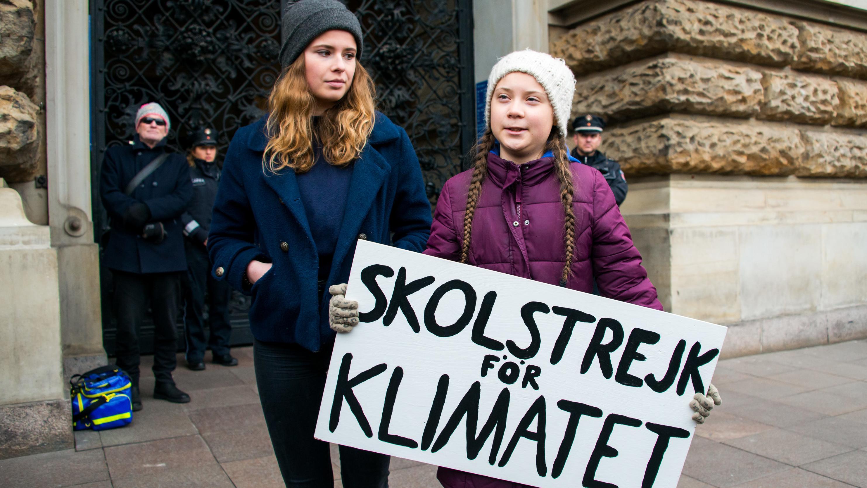 Sie hat den Anfang gemacht: Greta Thunberg aus Stockholm