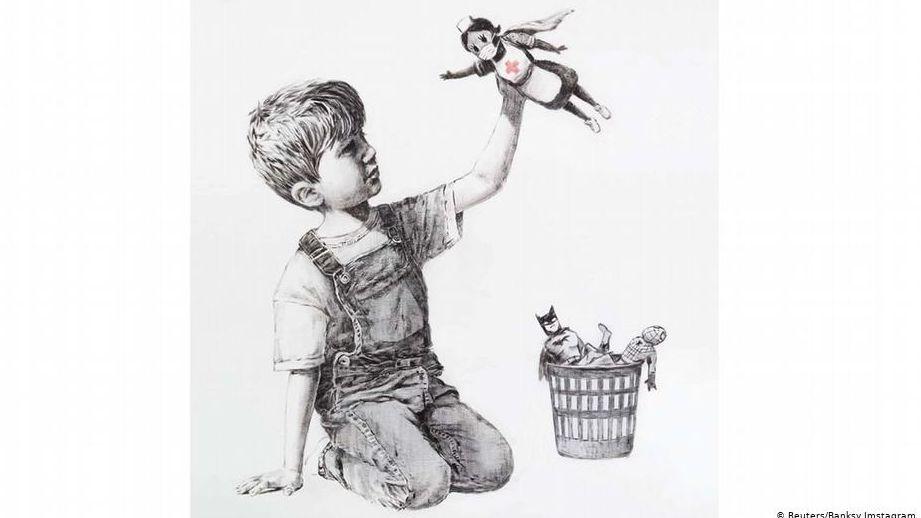 """Bild """"Game Changer"""" von Banksy"""