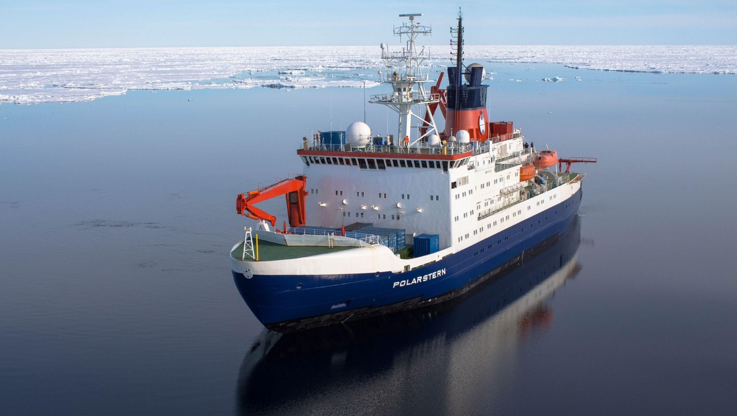 """Forschungsschiff """"Polarstern"""" auf See"""