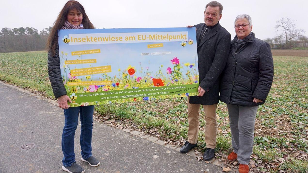 """Projekt """"Insektenwiese am EU-Mittelpunkt"""""""