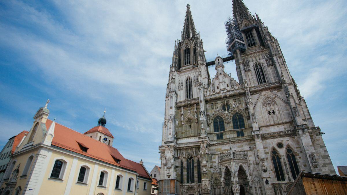 Der Dom in Regensburg.