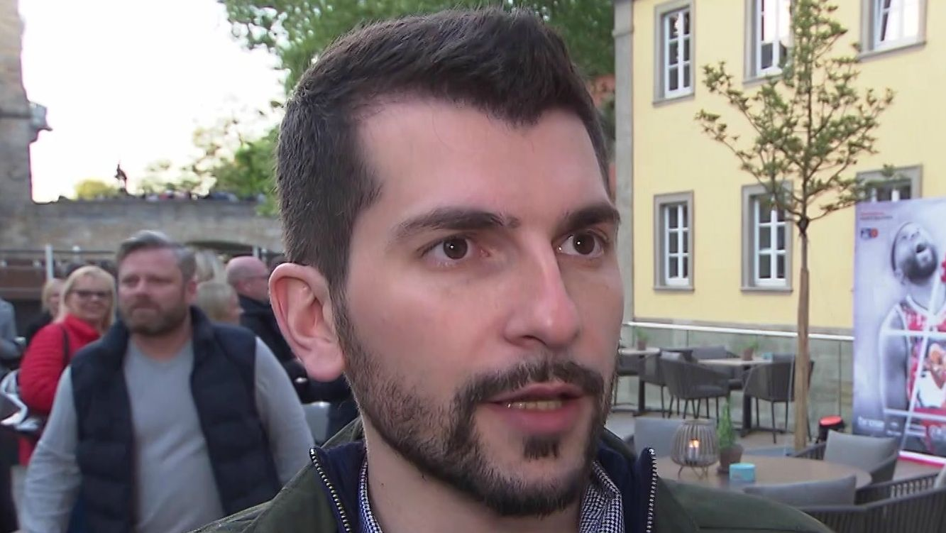 Bambergs Trainer Federico Perego