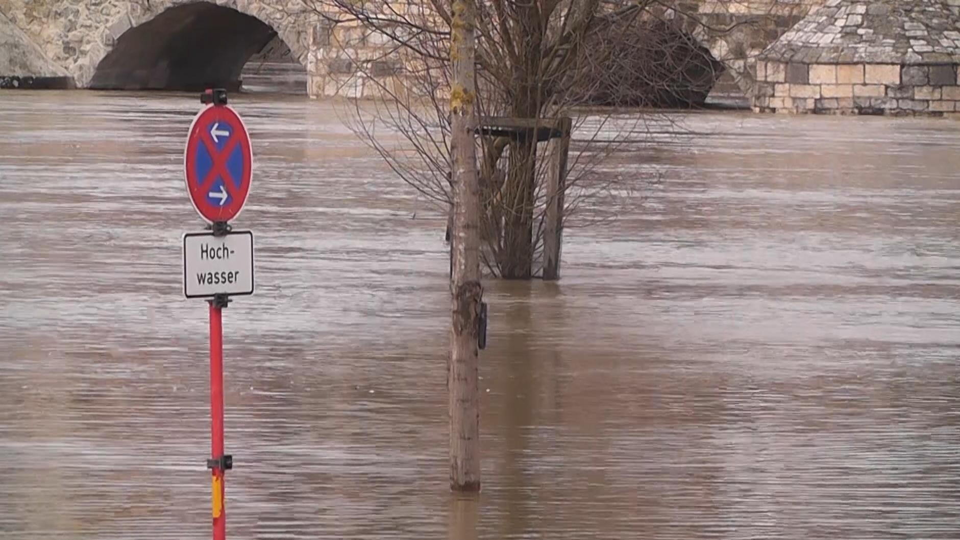 Überflutungen in Schwaben