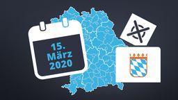 Kommunalwahl in Bayern: Der Fahrplan bis zum 15. März 2020 | Bild:BR