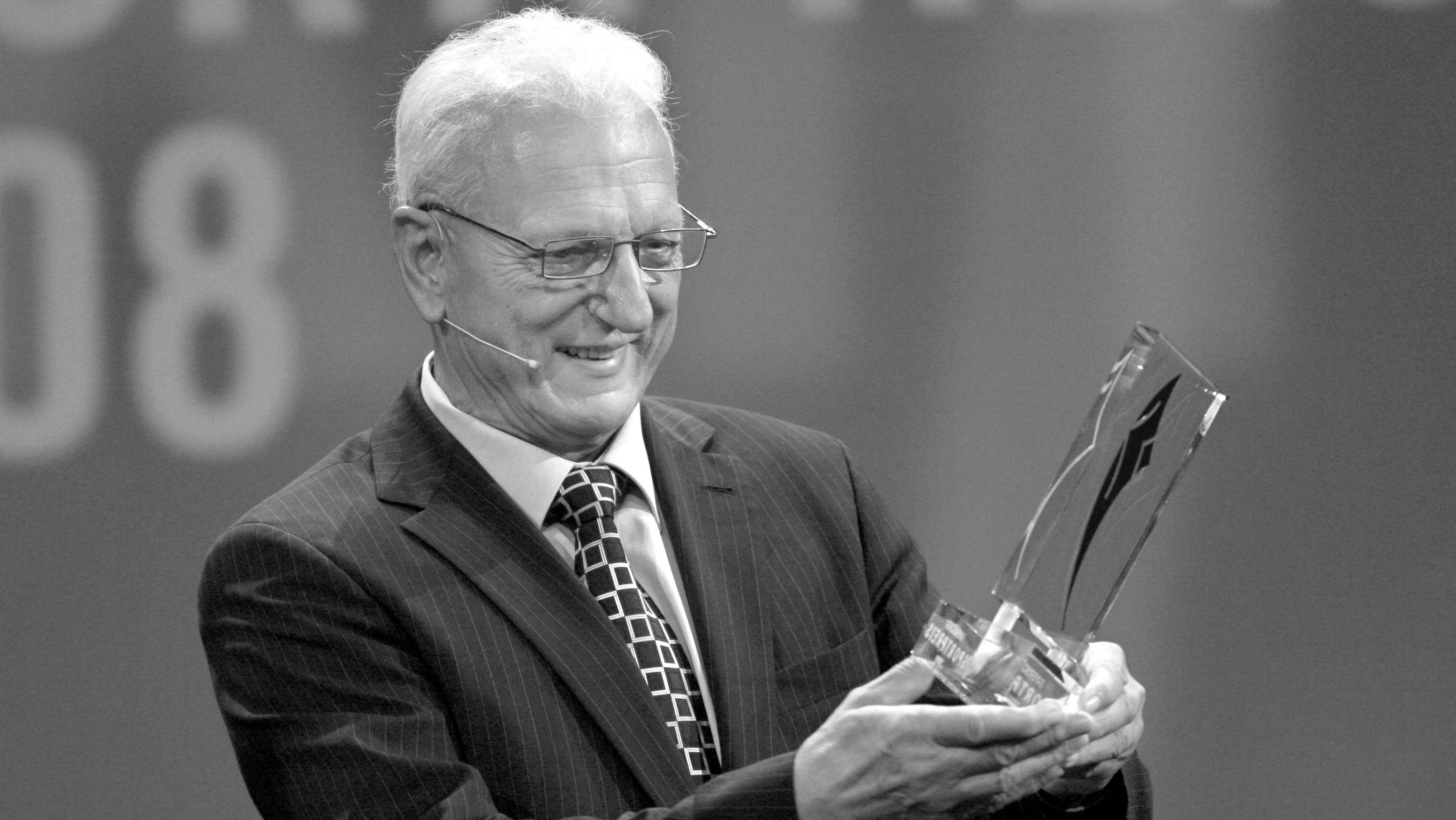 Martin Lauer mit dem Bayerischen Sportpreis 2008