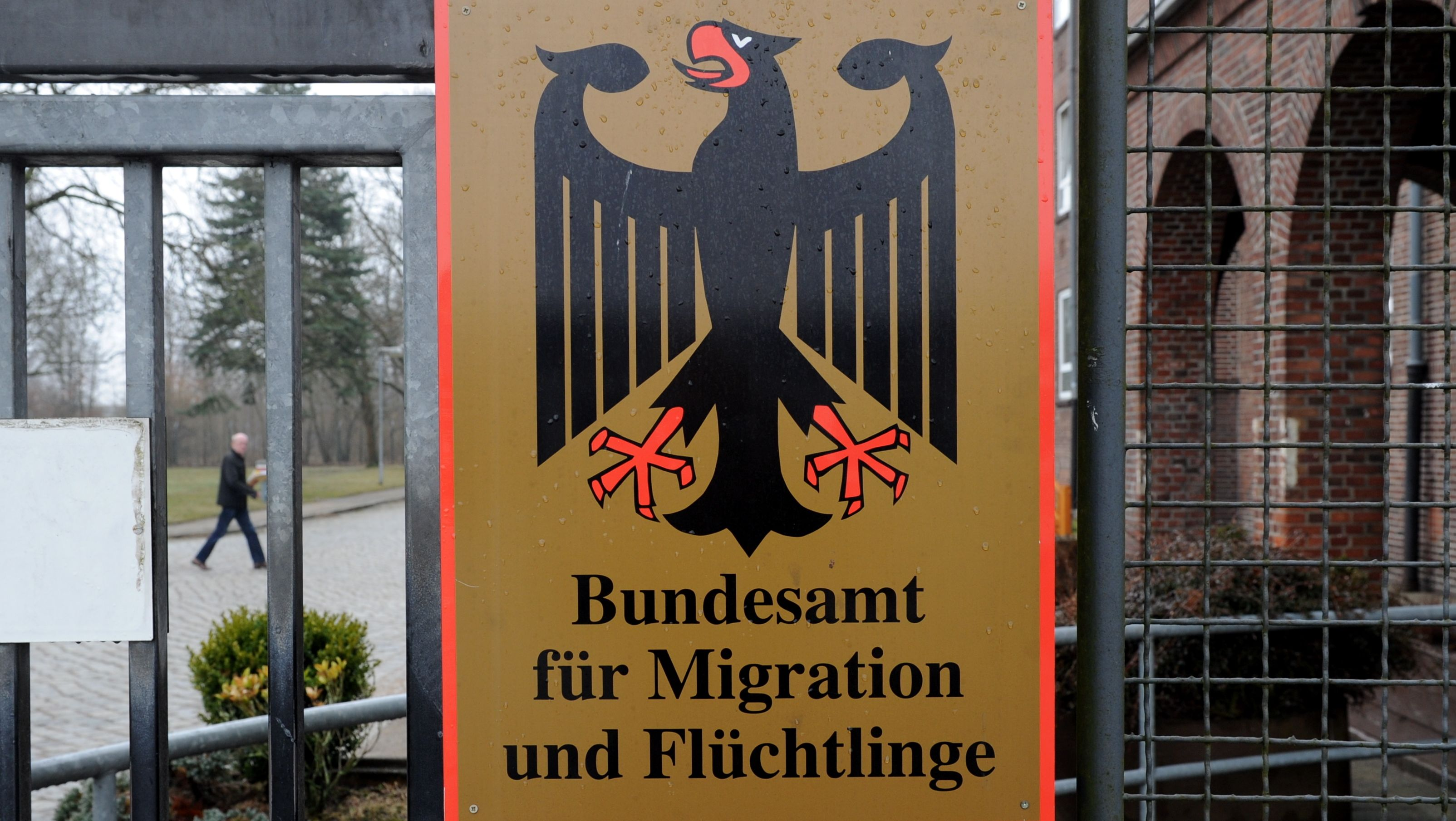 Anlaufstelle für Flüchtlinge