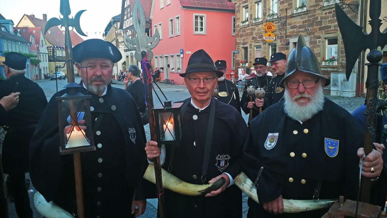Nachtwächter-Treffen in Prichsenstadt