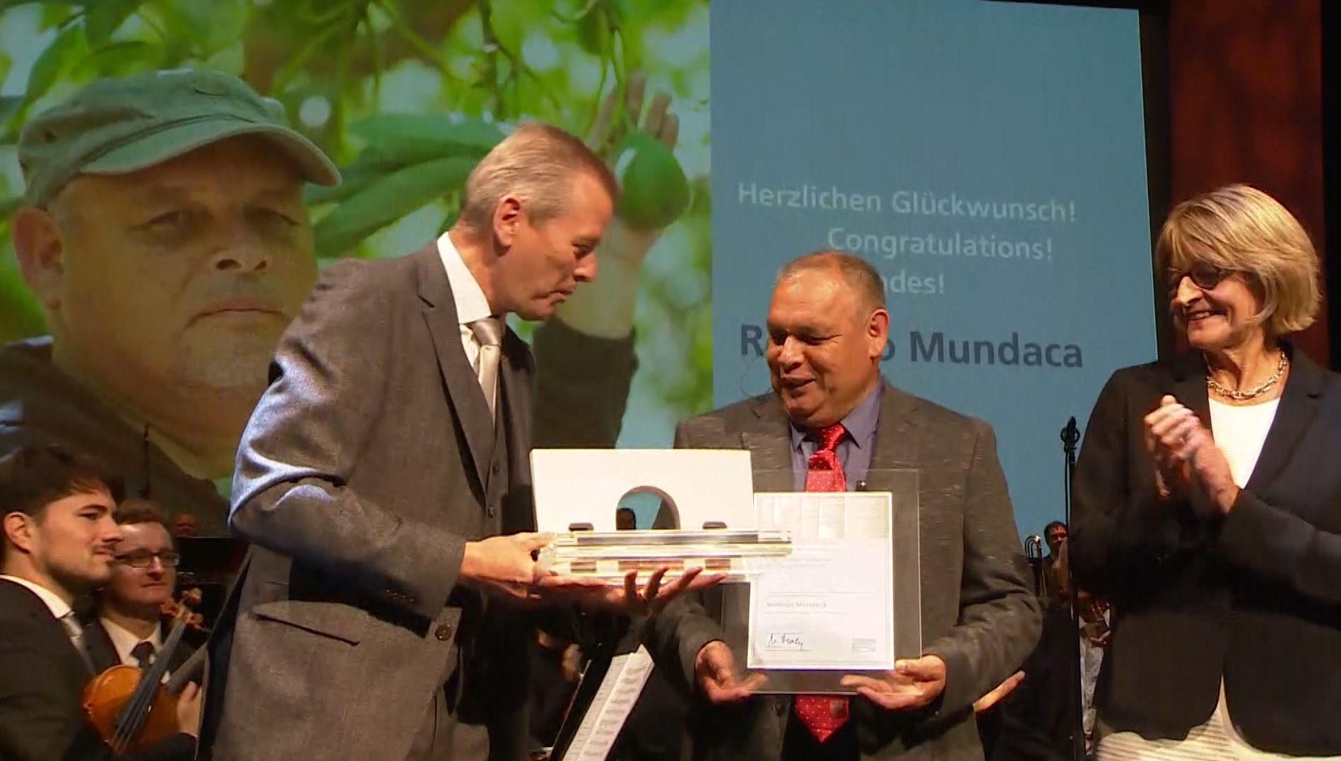 Menschenrechtspreis-Verleihung