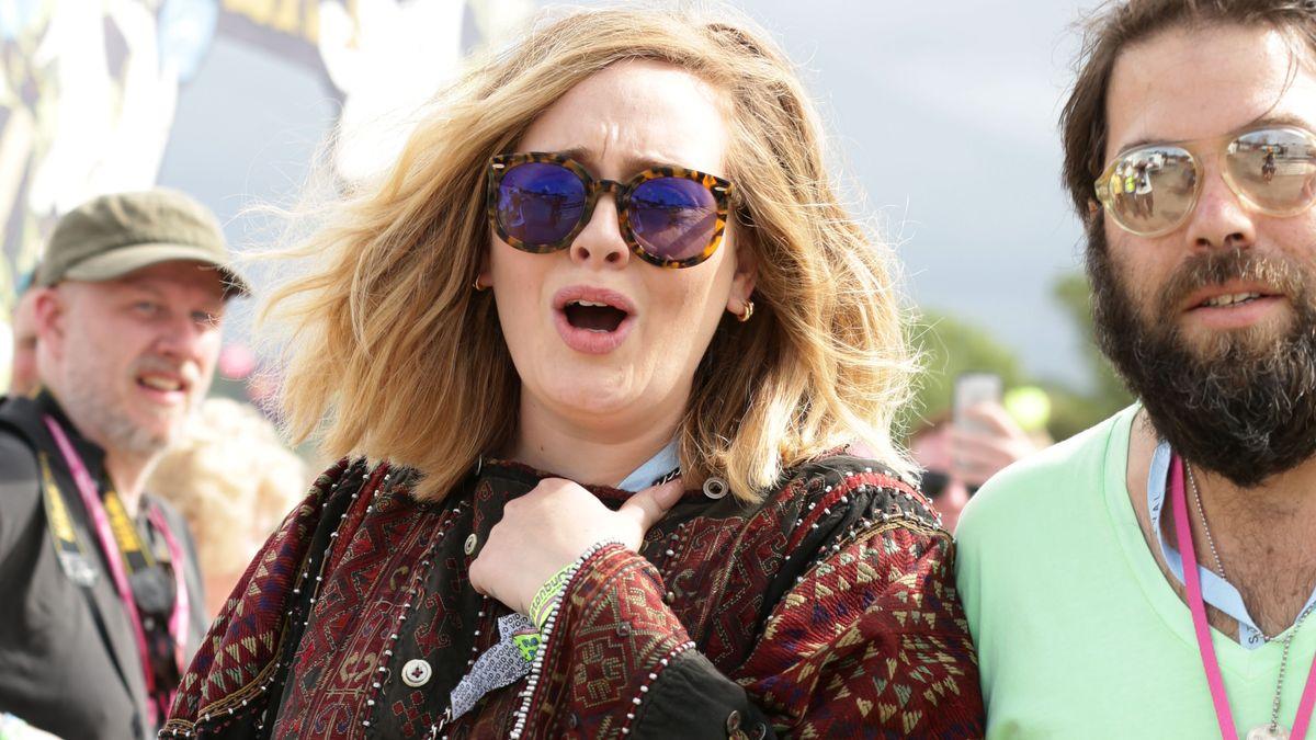 Archivbild: Sängerin Adele mit Ehemann Simon Konecki. / Scheidung eingereicht.