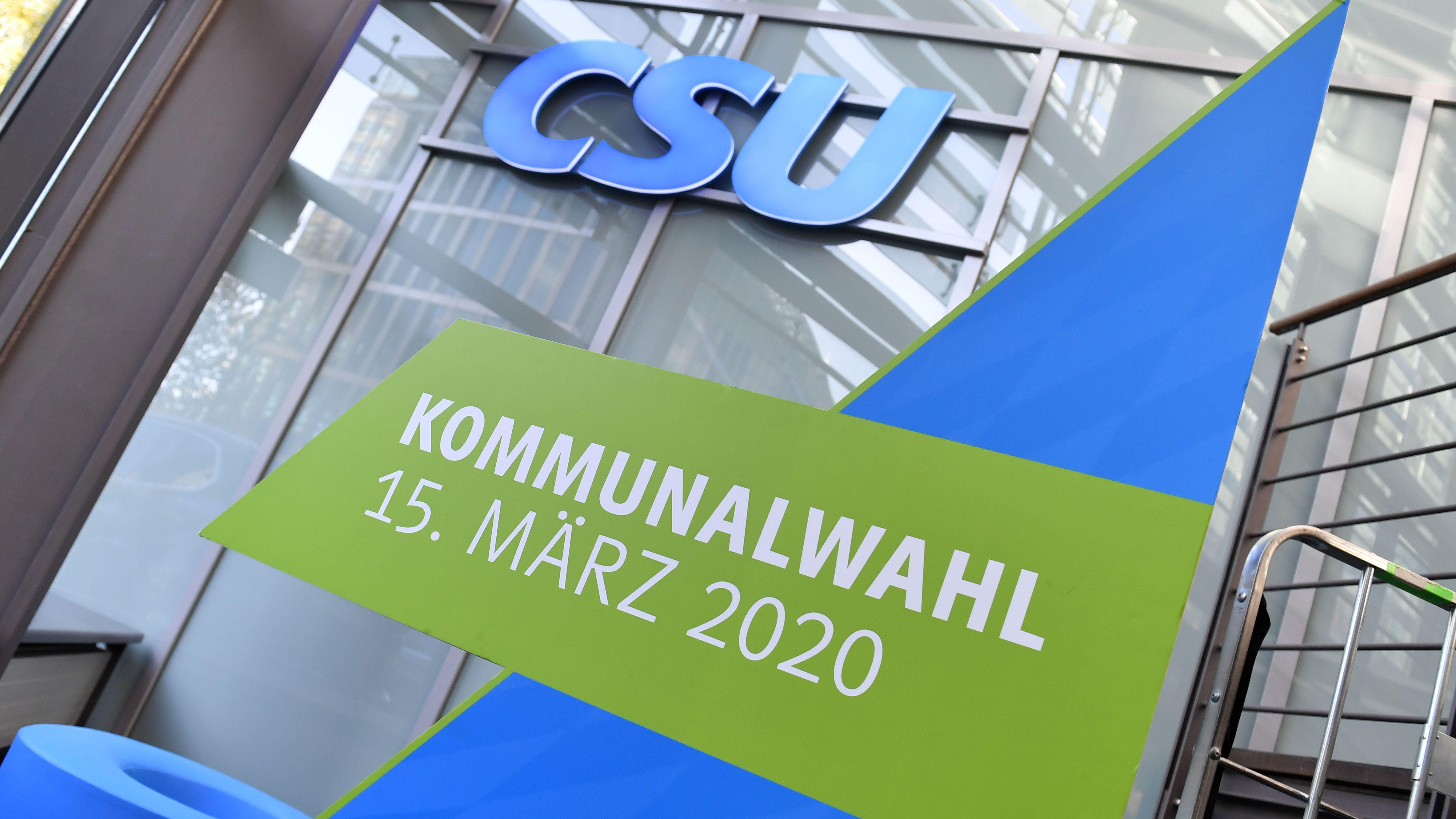 Symbolbild CSU und Kommunalwahl
