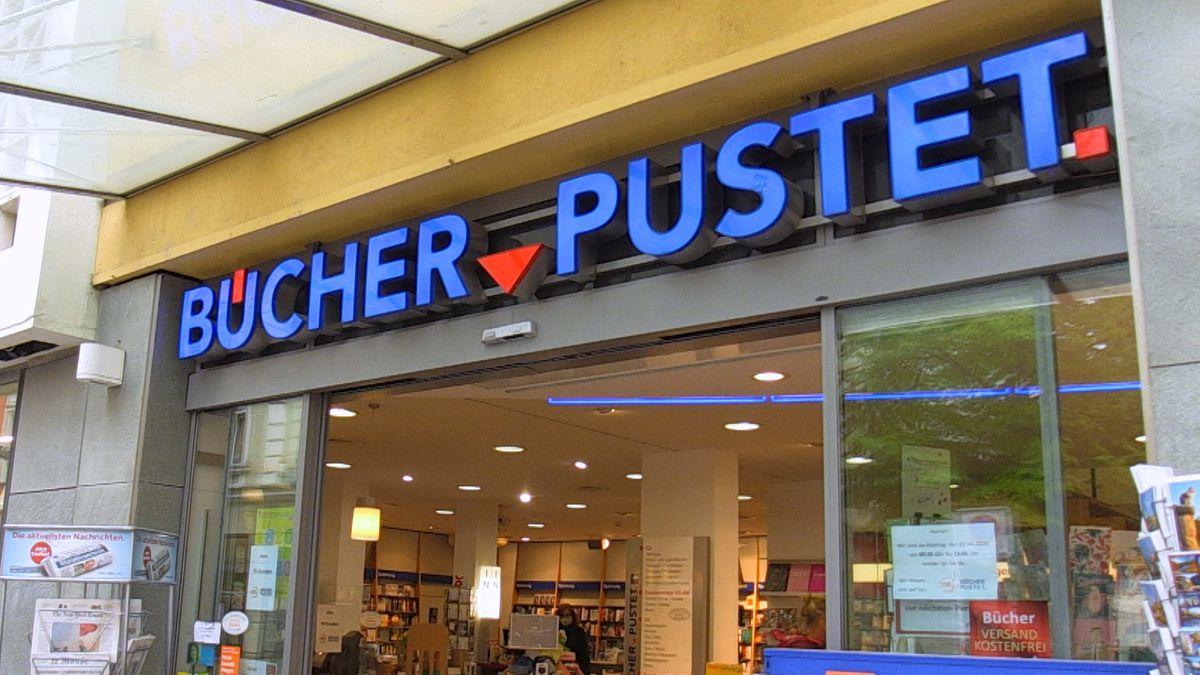 Bücher Pustet Filiale in Regensburg.