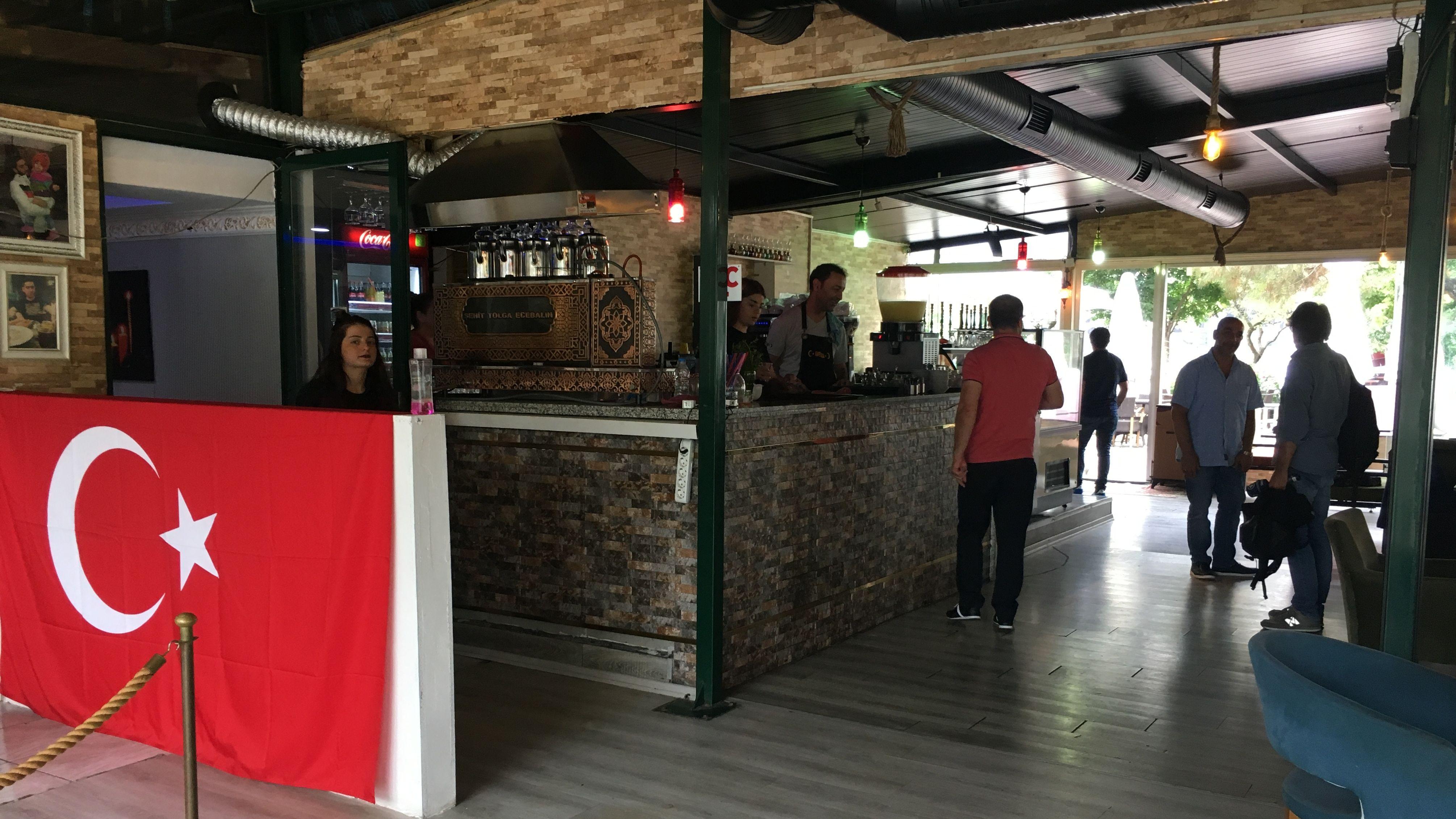 Cafe Tolga in Istanbul.