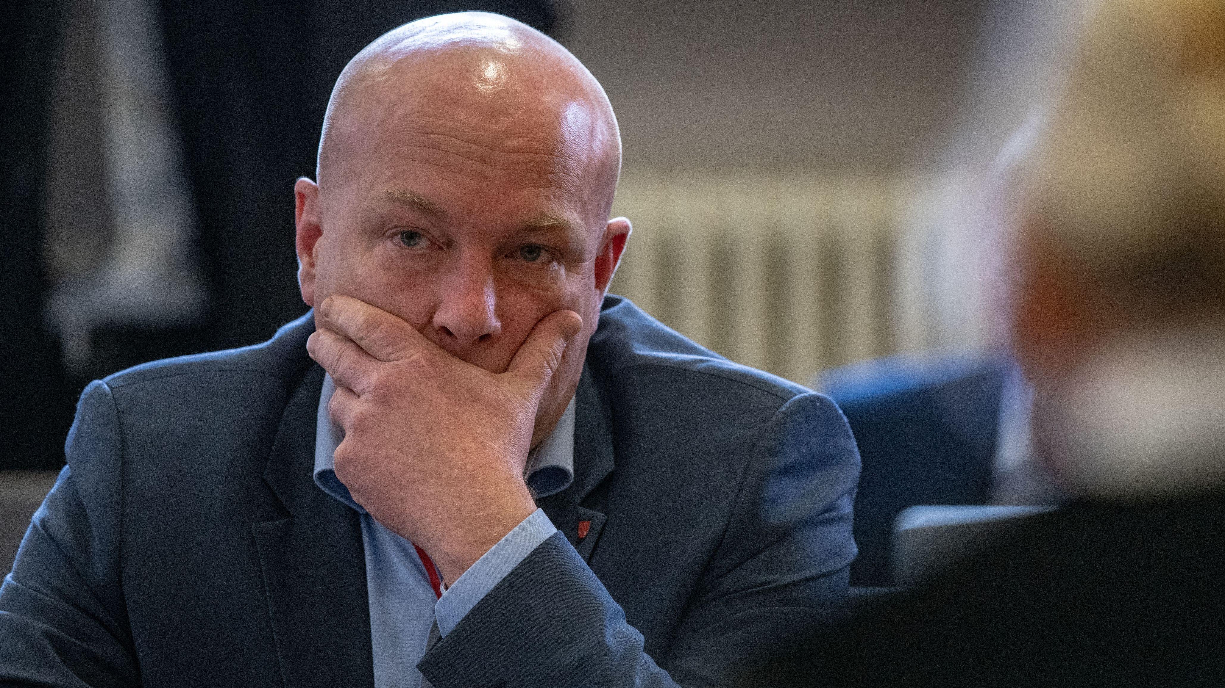 Der suspendierte Regensburger OB Joachim Wolbergs