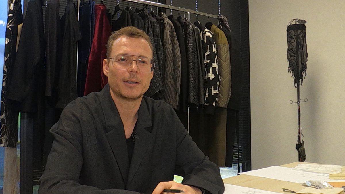 Modedesigner Tom Rebl