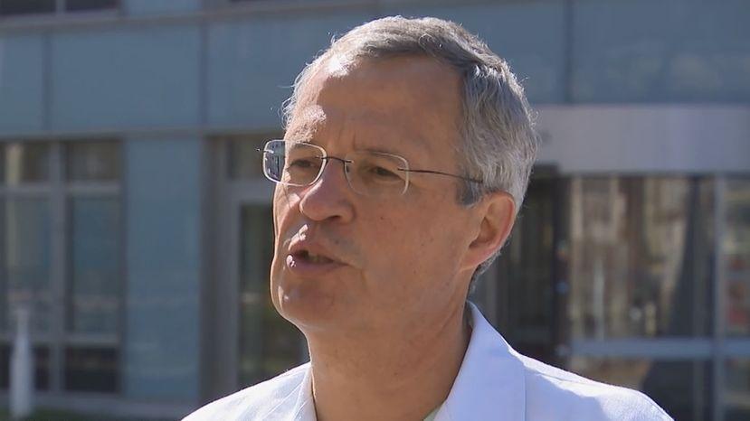 Joachim Ficker, Chefarzt der Pneumologie am Klinikum Nürnberg